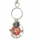 Guinness Toucan Spinner keyring with two charms (sg 2233b)